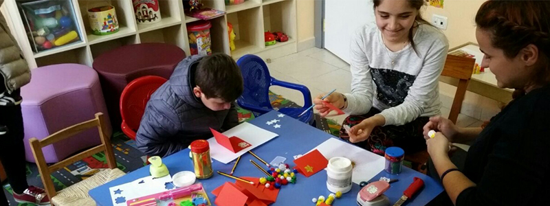 Albania: Kids Health Project Artist-in-Residence